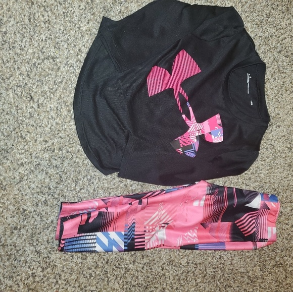 e0a71056bf Size 18 month under armour girls
